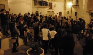 assemblea di quartiere nel centro storico di Grottaglie