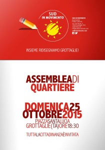 Assemblea di quartiere Sud in Movimento Grottaglie
